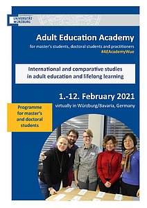 Programme of the Adult Education Academy 2021 for Master and Doctoral Students
