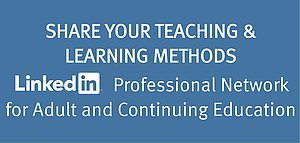 Share your teaching and learning methods here