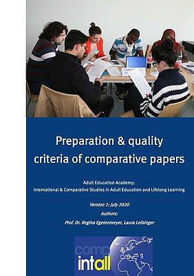 Transcript of the video Preparation and Qualitiy Criteria of Comparative Papers